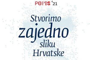 POPIS 2021 Stvorimo zajedno sliku Hrvatske