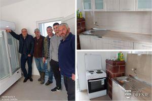 Općina Drenje opremila društveni dom u Podgorju Bračevačkom