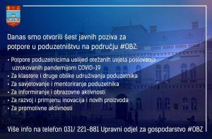 Osječko-baranjska županija objavila šest novih javnih poziva za poticanje poduzetništva
