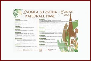 "Program ""Zvonila su zvona katedrale naše"" Đakovo 2021."