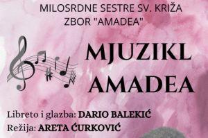 """Najava mjuzikla """"Amadea"""" u dvorani Florentini u Đakovu"""