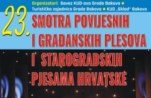 23. Smotra povijesnih i građanskih plesova i starogradskih pjesama Hrvatske
