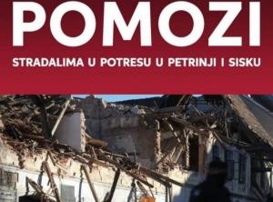 Informacije i upute Hrvatskog Caritasa u vezi potresa u Glini, Sisku i Petrinji