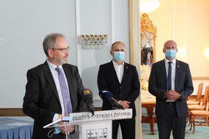 Veleposlanik Kraljevine Norveške Nj. E. Haakon Blankenborg u nastupnom posjetu Osječko-baranjskoj županiji